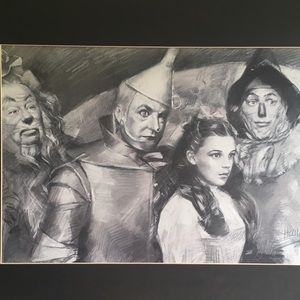 🌪🧙‍♂️ Wizard of Oz Realistic Hand drawn print